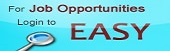 For job opportunities login to Easy